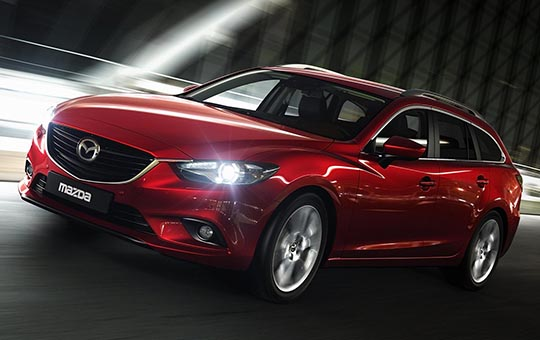 Xe tự lái Mazda
