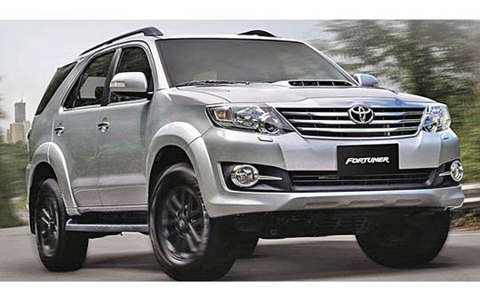 CHO THUÊ XE DU LỊCH Toyota Fortuner 2015 X