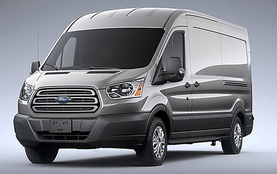 New Ford Transit Luxury