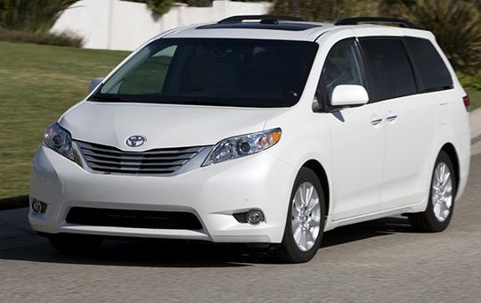 CHO THUÊ XE DU LỊCH Toyota Sienna