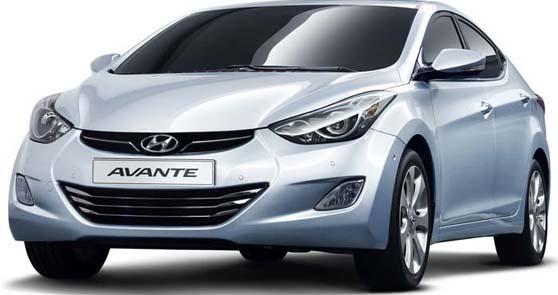 CHO THUÊ XE DU LỊCH Hyundai Avante
