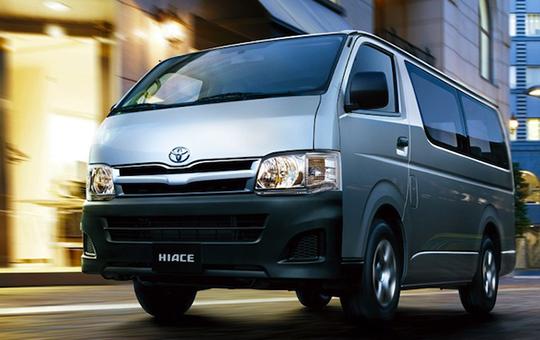 Xe tháng 16 chỗ Toyota Hiace