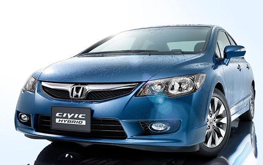 Xe Honda Civic tự lái