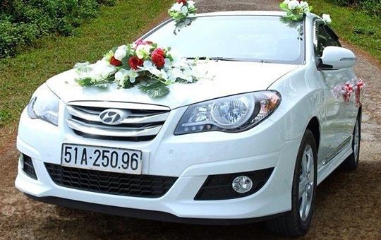 Xe cưới Hyundai Avante